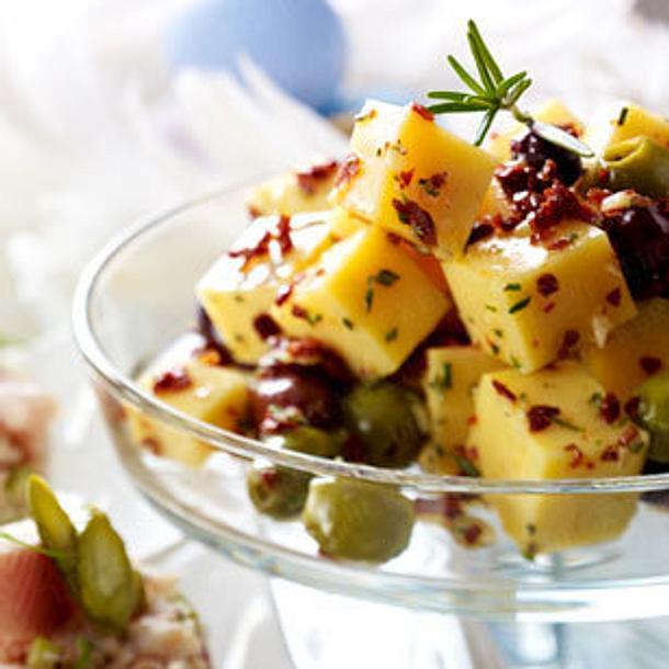 Chili-Oliven-Manchego Rezept