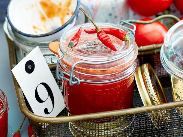 Chili-Tomaten-Konfitüre Rezept