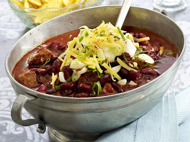 Chilitopf mit Chorizo Rezept