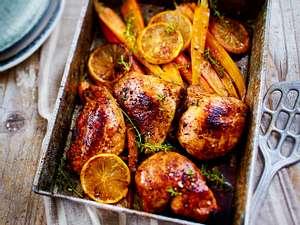 Chilliges 25-Minuten-Huhn mit Möhrchen Rezept