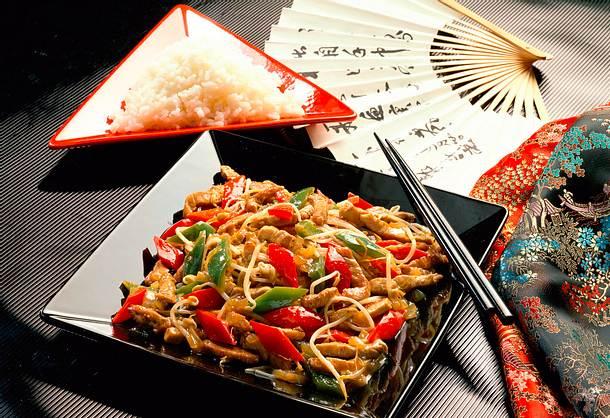China-Pfanne Rezept