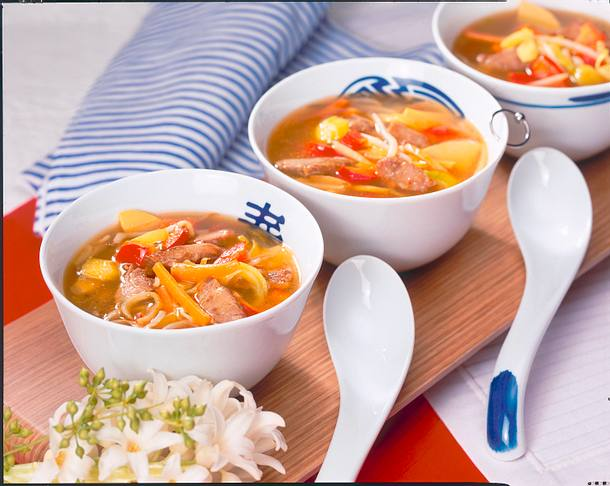 Chinasuppe Rezept