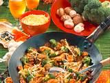 Chinesische Broccoli-Fleischpfanne Rezept