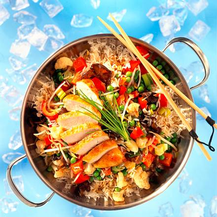 Chinesische Gemüsepfanne Rezept