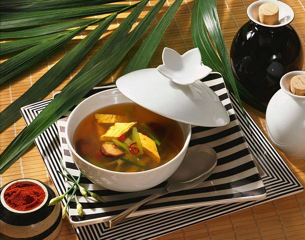 Chinesische Suppe Rezept