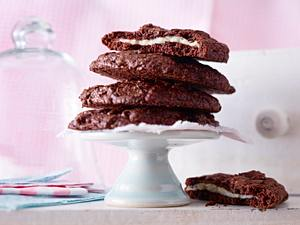 Chocolate Cheese Cookies Surprise Rezept