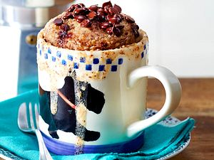 Chocolate-Chip-Nuss-Becher Rezept