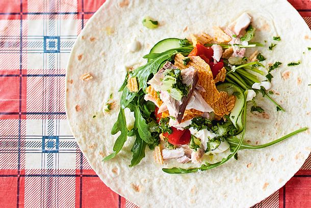 "Crunch-Wrap ""Fish and Chips"" Rezept"