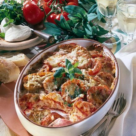 Ciabatta-Lasagne Rezept