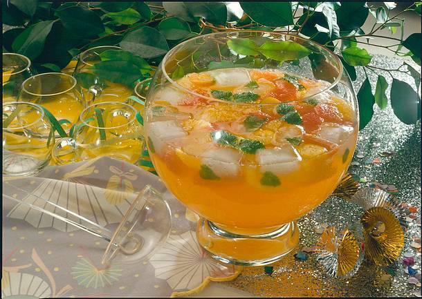 Citrus-Bowle Rezept