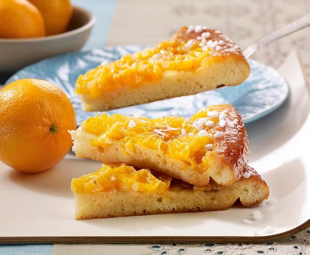 Clementinen-Tarte tatin Rezept