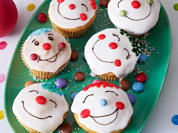 Clownmuffins Rezept