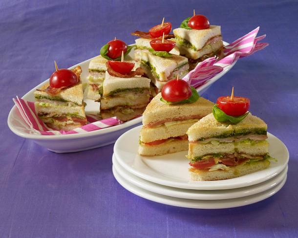 Club-Sandwiches Rezept