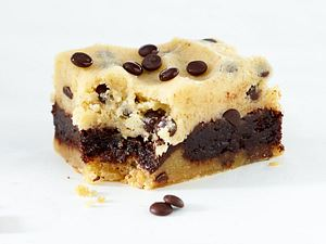 Cookie-Dough-Brownie Rezept
