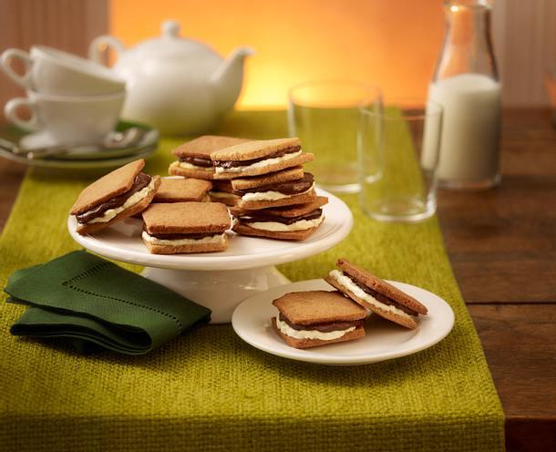 Cookie Sandwiches Rezept