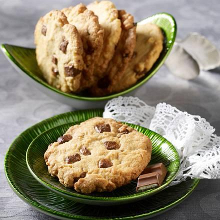 Cookies Mit Kinderschokolade Rezept Lecker