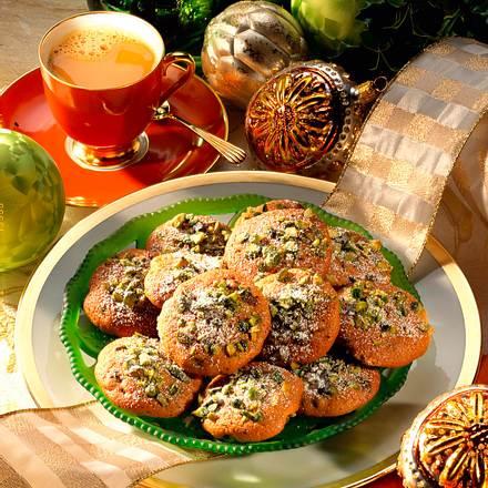 Cookies mit Pistazien Rezept