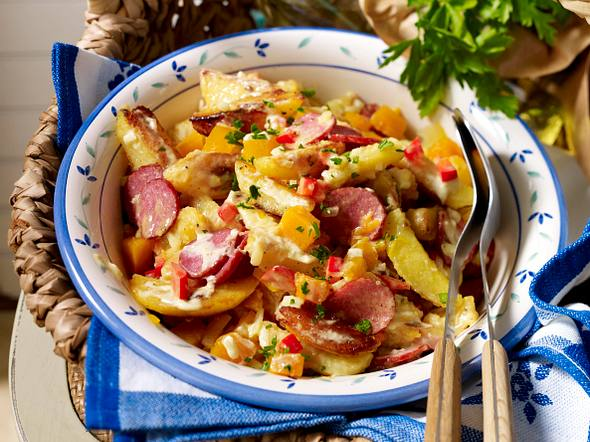 Country-Potatoes-Salat Rezept