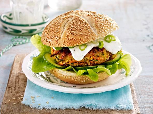 Couscous-Burger Rezept
