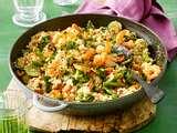 Couscous-Garnelen-Pfanne Rezept