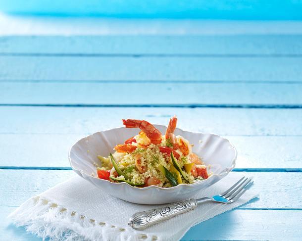 Couscous mit Garnelen Rezept