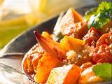 Couscous mit Kürbis-Schalotten-Gemüse Rezept