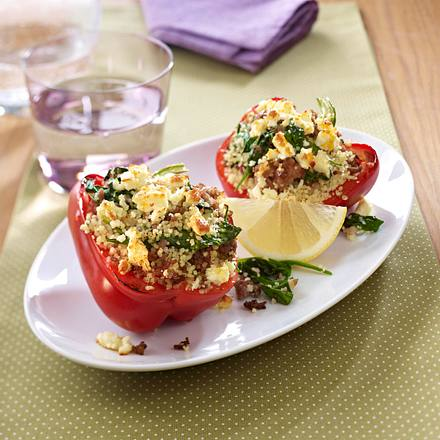 Couscous Stuffed Pepper Rezept