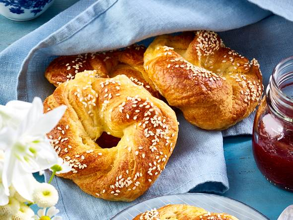 Cragel: Croissant und Bagel Rezept