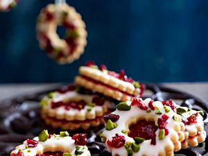 Cranberry-Adventskringel Rezept