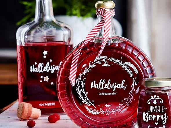 Cranberry-Gin Rezept
