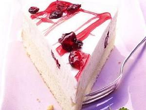 Cranberry-Zitronensahne-Torte Rezept