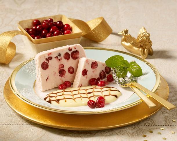 Cranberryparfait Rezept
