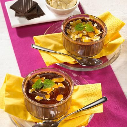 Crème brûlée au chocolat Rezept