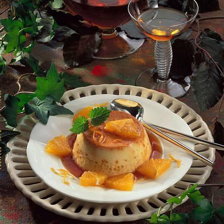Crème caramel à l'orange Rezept