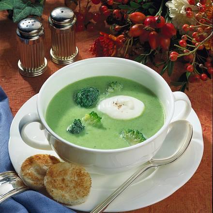 Cremige Broccoli-Suppe Rezept