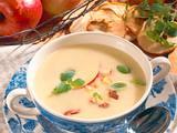 Cremige Kartoffel-Apfel-Suppe Rezept