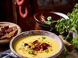 Cremige Maissuppe mit Chorizo Rezept