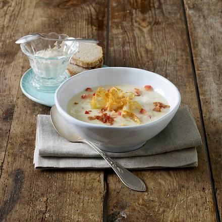 Cremige Sellerie-Apfel-Suppe Rezept