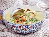 Cremige Wirsing-Parmesan-Suppe Rezept