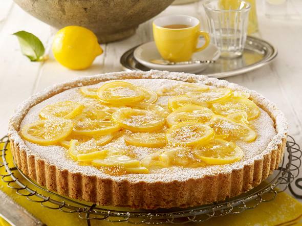 Crostata al limone (Zitronen-Tarte) Rezept
