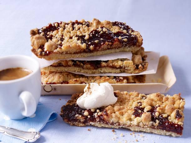 Crumblecake mit Pflaumenmus Rezept