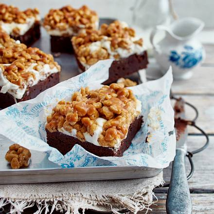 Crunchy Brownie Rezept