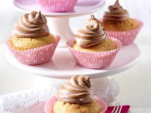 Cupcakes mit Kakao-Baiserhaube Rezept