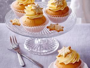 Cupcakes mit Vanille-Buttercreme Rezept