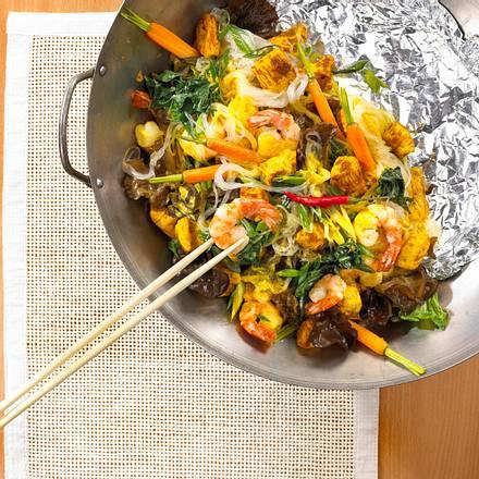 Curry-Bami-Goreng Rezept