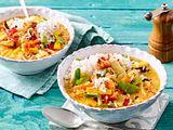 "Curry-Bowl ""Essen ist gleich fertig"" Rezept"