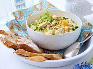 Curry-Geflügel-Salat mit Mandarinen Rezept