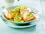 Curry-Gemüsenudeln mit Hähnchen Rezept