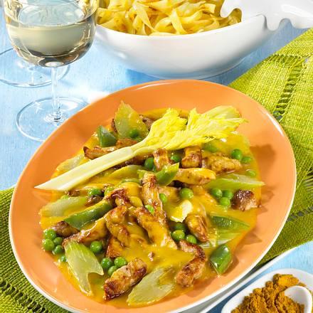 Curry-Geschnetzeltes Rezept