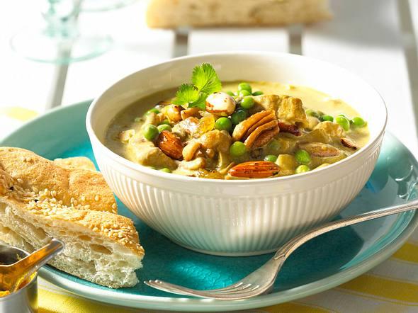 Curry-Geschnetzeltes à la Student Rezept